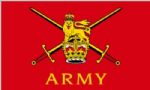 British Army Large Flag - 3' x 2'.